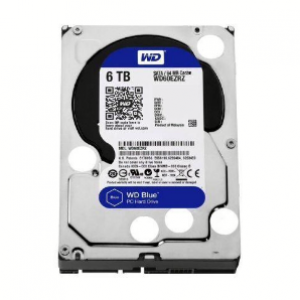 WD 6TB Blue 64MB Hard Drive