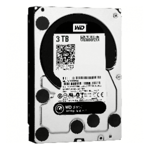 WD 3TB Black 7200 Hard Drive
