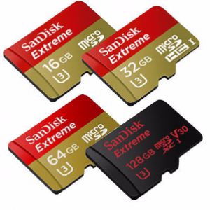 SanDisk 128GB Micro SD Extreme Memory Card
