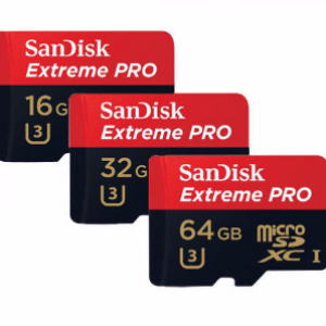SanDisk 32GB Micro SD Extreme Pro Memory Card