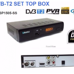 Uraku Full HD DVB-T2 Receiver
