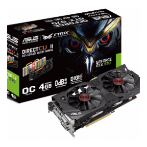 Asus GeForce GTX980 STRIX 4GB GDDR5 Graphics Card