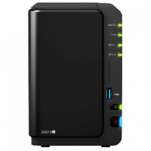 Synology DiskStation DS216+II 2-Bay NAS