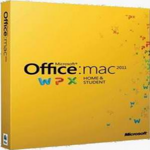Microsoft Office MAC 2011 Home & Student - 1 Mac / 1 User (Disc version)