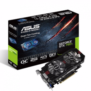 Asus GeForce GTX750TI OC 2GB GDDR5 Graphics Card