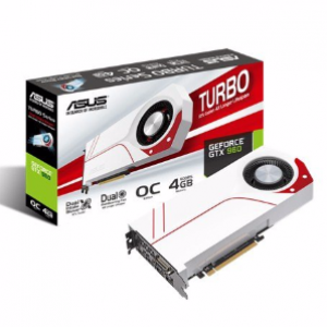 Asus GeForce GTX960 TURBO OC 4GB GDDR5 Graphics Card