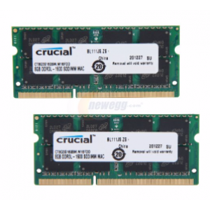 Crucial 8 GB PC3-12800/1600MHz (16 Chip) Desktop PC RAM Memory DDR3 ValueRAM
