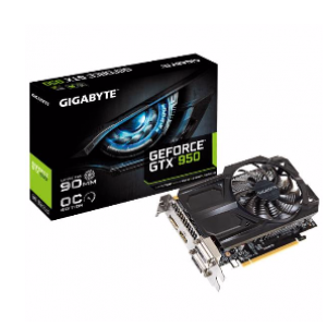 Gigabyte GeForce GTX950 OC 2GB GDDR5 Graphics Card