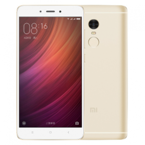 Xiaomi 64GB RedMi Note 4 Dual-Sim Smartphone (Gold / Export Set)