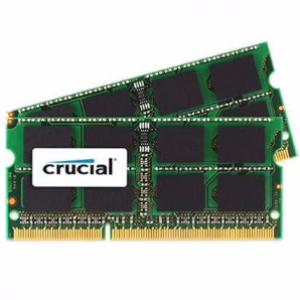 Crucial 4 GB PC3 8500/1066MHz ( MAC support ) Notebook RAM Memory DDR3