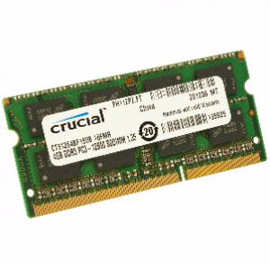 Crucial 4 GB PC3 12800/1600MHz ( MAC support ) Notebook RAM Memory DDR3