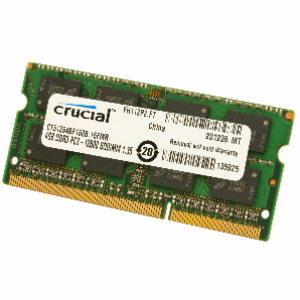 Crucial 8 GB PC3 12800/1600MHz ( MAC support ) Notebook RAM Memory DDR3