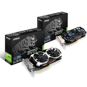 MSI GeForce GTX970 OC 4GB GDDR5 Graphics Card