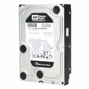 WD 500GB Black 64MB 7200RPM HDD 3.5
