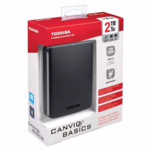 Toshiba 2TB Canvio HDD External USB 3.0 2.5