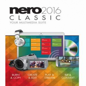 Nero Nero 2016 Classic - 1 PC / 1 User (Disc version)