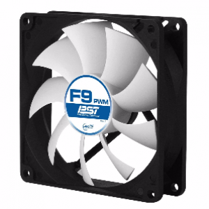 Arctic F9 9cm 3-Pin Fan 1800Rpm Casing Fan (AFACO-09000-GBA01)