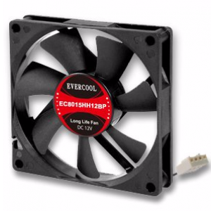 Cooler Master 80mm Silent (80x80x15mm) Casing Fan (R4-SPS-20AK-GP)