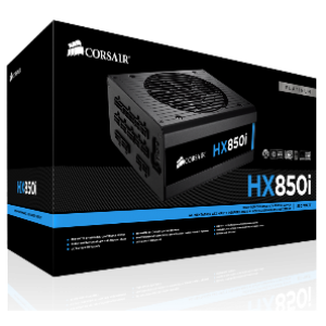 Corsair HX850i 850W 80+ High Performance Platinum Power Supply