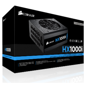 Corsair HX1000i 1000W 80+ High Performance Platinum Power Supply