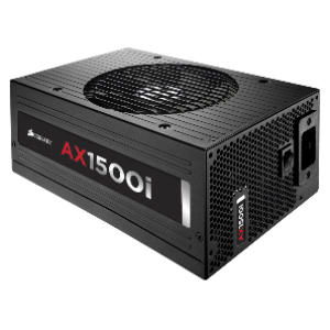 Corsair AX1500i 1500W Fully Modular 80+ Platinum Digital Power Supply