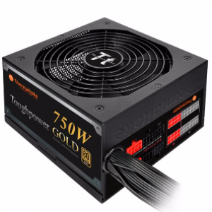 Thermaltake Toughpower 750W 80+ Gold Modular Power Supply