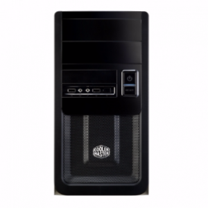 Cooler Master Elite 343 Black Edition microATX Casing w/ USB 3.0 (RC-343-KKN3)