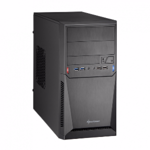 Sharkoon MA-1000 microATX Casing w/ 2xUSB 3.0 & 2 Fans