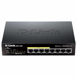 D-Link DGS-1008P 8-Port Gigabit Desktop Switch w/ 4 Power Over Ethernet Ports