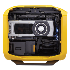 Corsair Graphite 380T Mini-ITX Casing (Yellow) (CS-CC-9011065-WW)