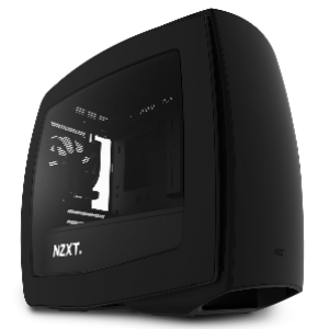 NZXT Manta Mini-ITX Casing (Black Matte) (CA-MANTW-M1)