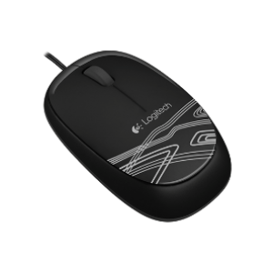 Logitech M105 Wired Mouse -Black (910-002920)