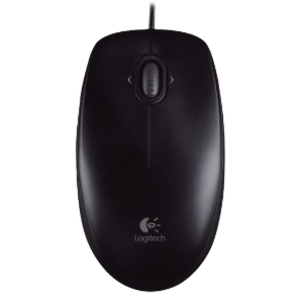 Logitech M100r Wired Mouse