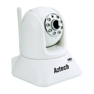 Aztech WIPC409 HD Wireless N Pan Tilt IP Camera