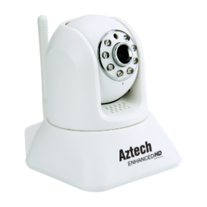 Aztech WIPC410 HD Enhanced HD Wireless N Pan Tilt IP Camera