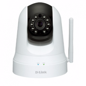 D-Link DCS-5020L Wireless Pan Tilt Zoom Infrared IP Camera