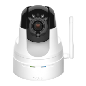 D-Link DCS-5222L HD Wireless Pan Tilt Zoom Infrared IP Camera