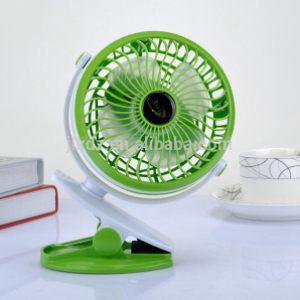 Rechargeable USB Mini Fan /w Clip