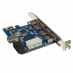 PCI Express USB 3.0 4-Port Expansion Cards