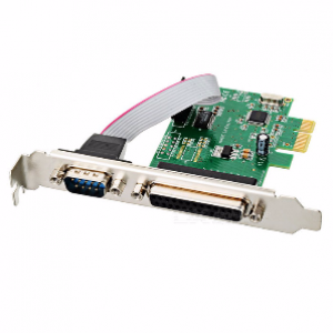 PCI Express 2 Serial & 1 Parallel Expansion Cards