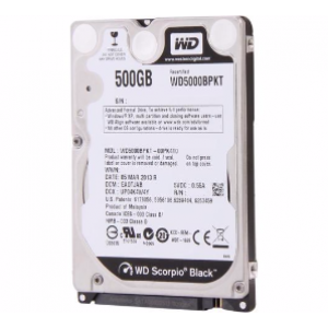 WD 500GB Black 7200RPM 2.5