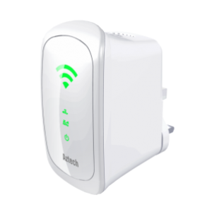 Aztech WL590E Wall-Plugged 750Mbps Dual Band Concurrent Wireless-AC Repeater