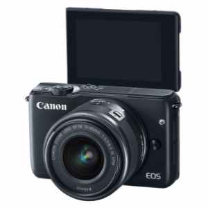 Canon EOS M10 Kit w/ 15-45mm STM Lens Mirrorless Camera