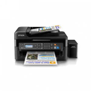 Epson L565 InkJet All-in-One Color Printer (Black)