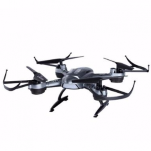 L6056 Headless Mode Mini Helicopter 2.4G 4CH 6Axis RC Quadcopter Drone (Black)