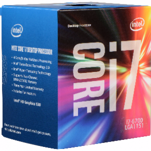 Intel Intel i7-6700 3.4Ghz 8Mb LGA1151 Desktop Processor