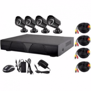CHOICE 4 Camera CCTV Bundle