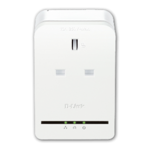 D-Link DHP-P308AV AV500 500Mbps Passthrough Powerline Homeplug