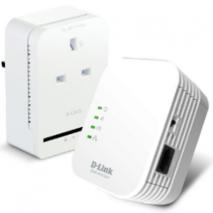 D-Link DHP-WP311AV AV500 Passthrough Powerline and Mini Starter Kit