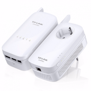 TP-Link WPA8630KIT HP Wireless AC1200 Dual Band WiFi Powerline Homeplug